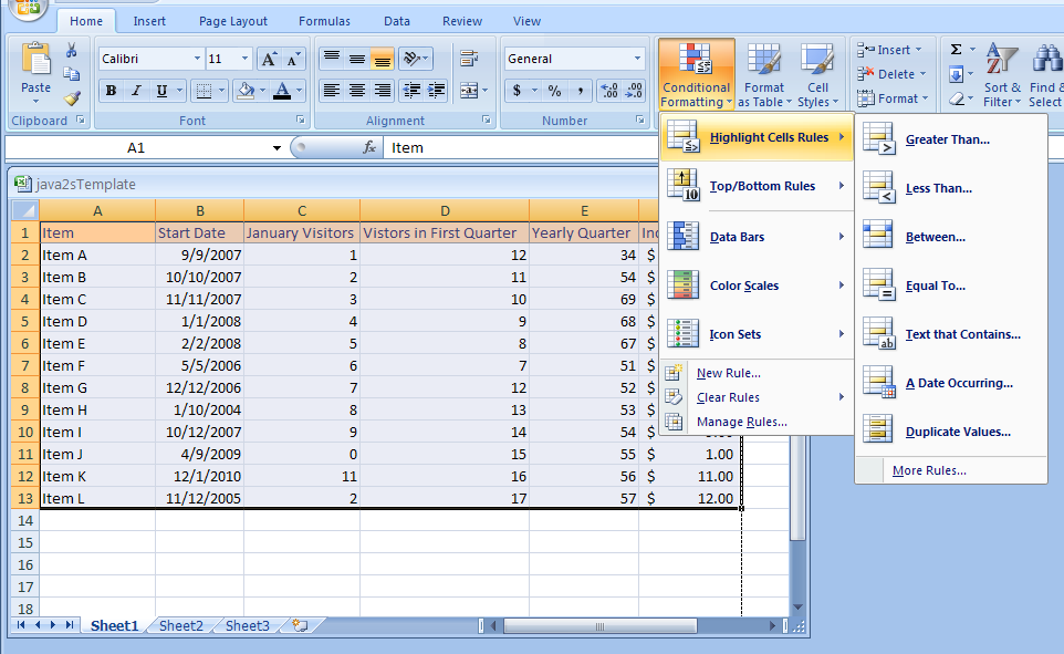 Conditional Formatting in MS Excel How to Locate Duplicate Records Quickly By Using Conditional Formatting in MS Excel