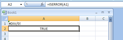 IsError How to Use IF IsError Together?