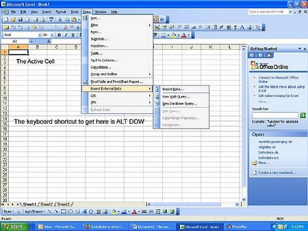 MS Excel Keyboard Shortcuts How to Use the MS Excel Keyboard Shortcuts